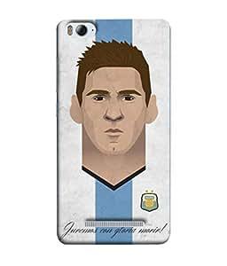 ColorKing Football Messi Argentina 18 Multicolor shell case cover for Xiaomi Redmi 4A