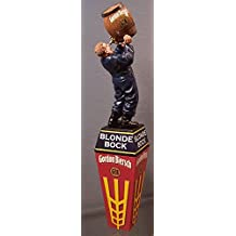 Gordon Biersch Skinny Brewer Blonde Bock Beer Tap Handle - Never Trust A Skinny Brewer