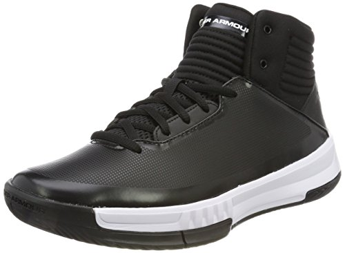 Under Armour Men's UA Lockdown 2 Black/Black/White 11 D US