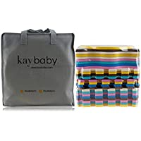 Kay Baby Stylish Baby Play Mat by For Babies, Toddlers and Kids | Comfortable Crawling Rug | Children Play Blanket | Perfect for Tummy Time | Non-Toxic | Non-Slip | No Odors