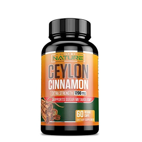Ceylon Cinnamon Capsules Anti inflammatory Antioxidant