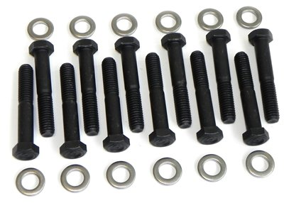 Compatible With 1967-1979 Chevrolet (all Models) Small Block Factory Exhaust Manifold Bolt Kit Set (H-8-9)