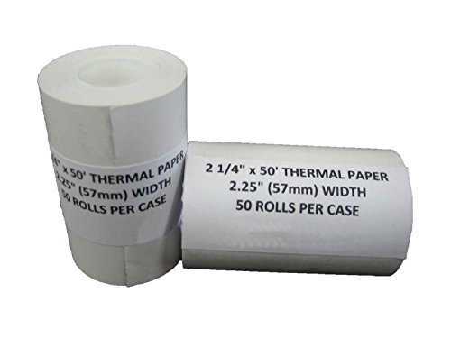 VeriFone VX680 VX520 Thermal Receipt Paper Rolls (2-1/4