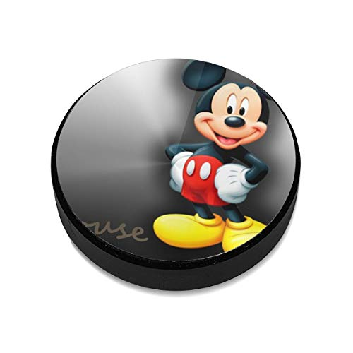 Mickey-Mouse Aluminium Alloy Magnetic Car Mount, Magnetic Car Mount Phone Holder,for Cell Phones and Mini Tablets Suit for Any Phone ()