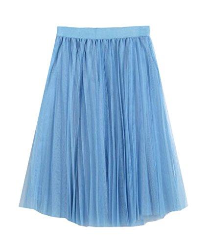 Blue Line Jupe Slim A Glamour Femelle Jupe Tulle En Fit Jupe Jupe T Femme Jupe Haililais Tendance ElGant Beau Mi Longue Skirt 1vqZqa