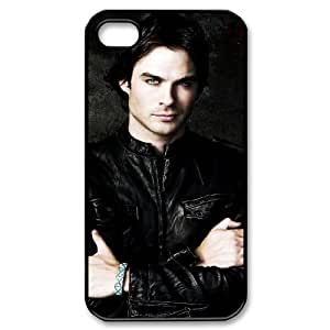 YUAHS(TM) Unique Phone Case for Iphone 4,4S with The Vampire Diaries YAS144373