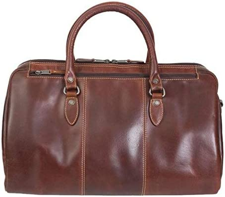 Canyon Outback Leather Goods, Inc. Niagara Duffel Bag Weekender Carry On Bag 18-Inches Brown