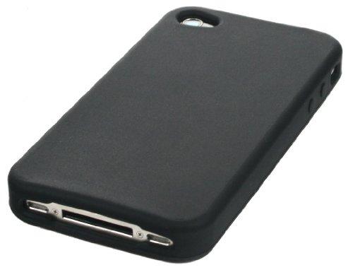 iCandy Silikon Schutzhülle für Apple iPhone 4 schwarz