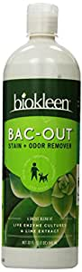 Biokleen Bac-Out Stain+Odor Remover, 32 Ounces