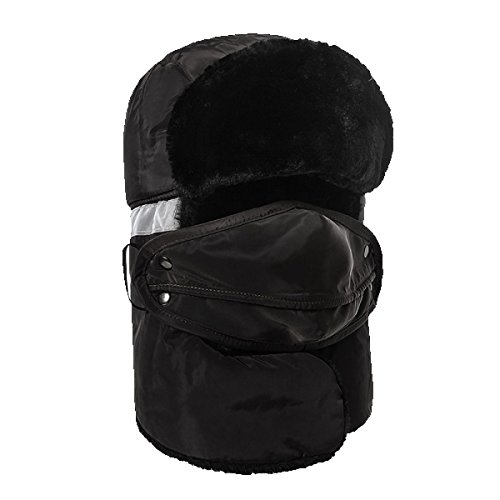 Sombrero De Para HikingWindproof gris Patinaje Caza Sombrero Winter De Bombardero Esquí Flap Hombres Unisex Invierno Máscara Ear Sombreros Esquí De Cálido qw8FgW1t
