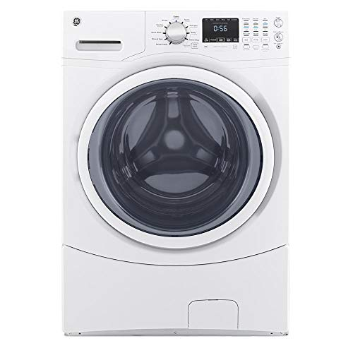 white front load washer