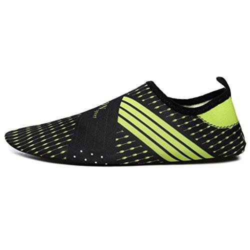 Zapatos De Natación Suela De Goma Superior Elástica + Suela De Goma Antideslizante Descalzo Parche De Piel Plegable Zapatos Suaves Zapatos De Buceo Zapatos De Snorkeling Zapatos De Playa Zapatos De Yo 3