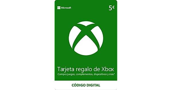 Xbox Live - 5 EUR Tarjeta Regalo [Xbox Live Código Digital ...