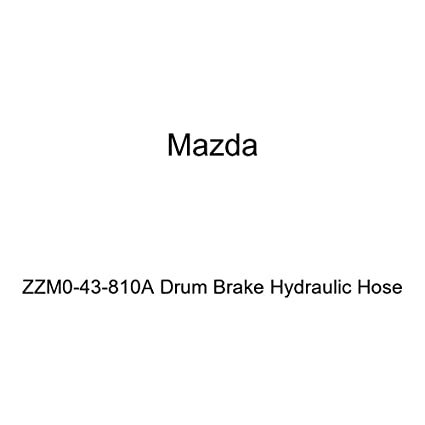 Mazda ZZM0-43-810A Drum Brake Hydraulic Hose