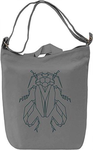 Long legged bug Borsa Giornaliera Canvas Canvas Day Bag| 100% Premium Cotton Canvas| DTG Printing|