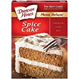 Duncan Hines Spice Cake Mix 18.25oz - 6 Unit Pack