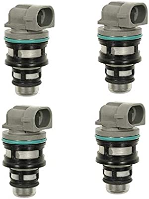 17113197 17112693 Set Of 4 New Fuel Injectors For Chevy GMC Cavalier Isuzu 92-97