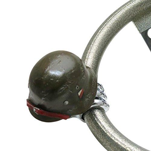American Shifter 15616 German WII Helmet Suicide Brody Knob