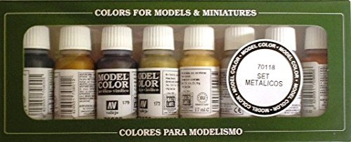 Vallejo game color gold yellow paint, 17ml