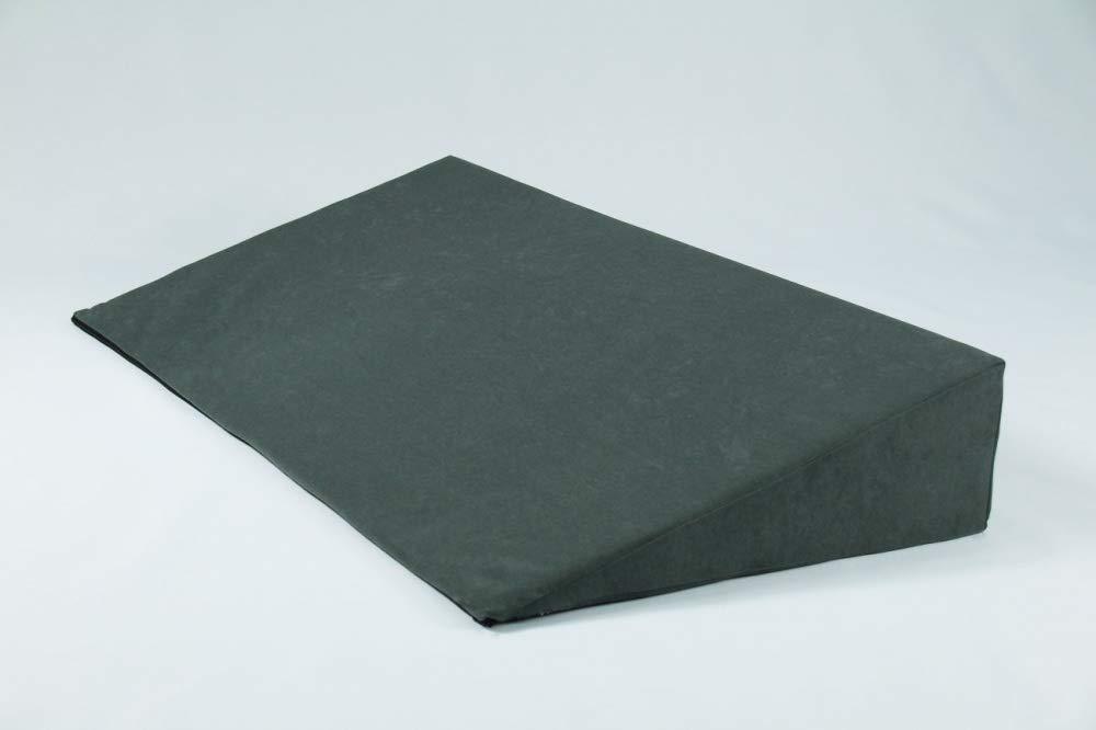 Fränkische Schlafmanufaktur Keilkissen Bezug für Bettkeil Poly 14,5 1cm, Farbe Grau, Breite 180cm B01N2AR0XA Bettzubehr