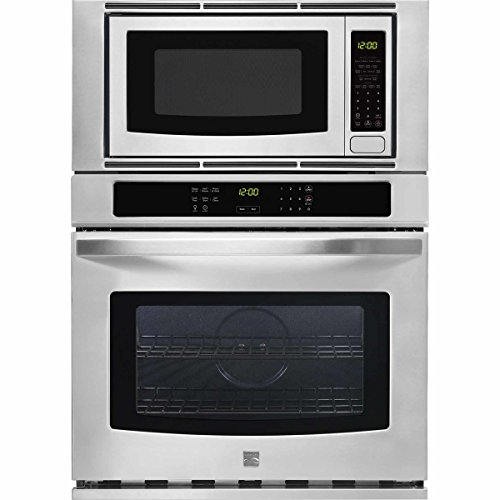 Kenmore 49613 30″ Microwave Wall Ovan Combination, Stainless Steel