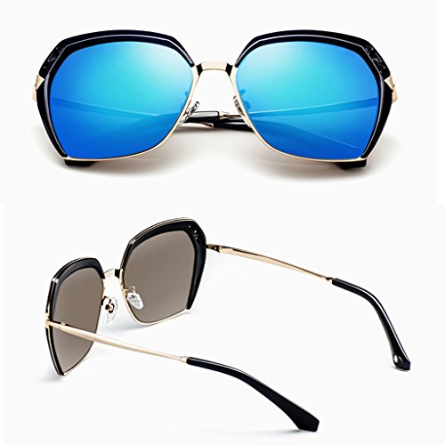 Blue lady lunettes polarisées soleil de Élégantes XTw6Pxpqp