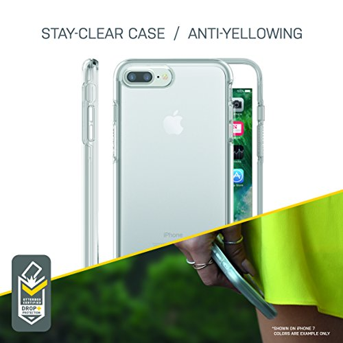 OtterBox SYMMETRY CLEAR SERIES Case for iPhone 8 Plus & iPhone 7 Plus (ONLY) - CLEAR by OtterBox (Image #4)