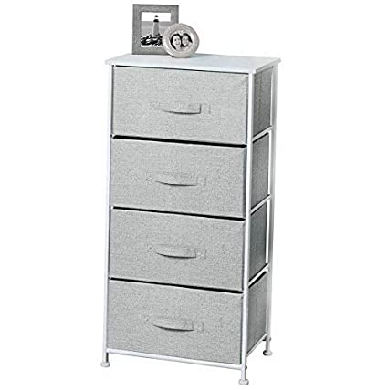 Amazon.com: Hebel Vertical Dresser Storage Tower with 4 ...