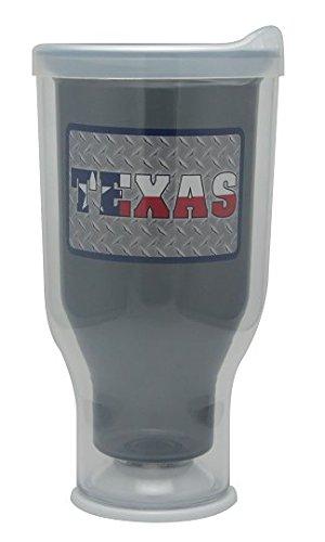 Diamond Texas Plate - My Favorite Tumbler - Texas Diamond Plate (Charcoal)