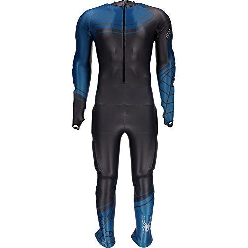 Spyder Mens Performance GS Race Suit: Polar/Concept Blue/Electric Blue: Small ()
