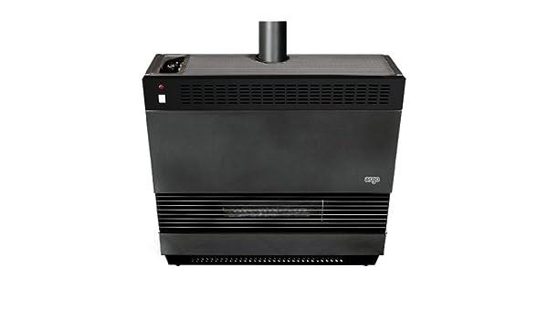 Estufa gas Argo Isidora Turbo 9 kW con ventilación soldada: Amazon.es: Bricolaje y herramientas