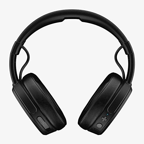 Skullcandy Crusher Bluetooth Wireless Over-Ear Headphone with Mic, Black