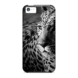 Case888cover Cases Covers For Iphone 5c - Retailer Packaging Dark Widescreen Tiger Protective Cases