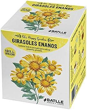 Kit cultivo Happy Garden Girasol Enano