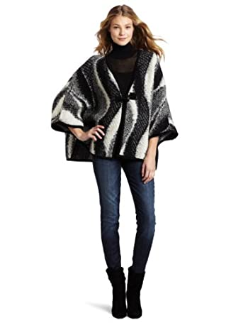 Jeans Women's Poncho Sweater