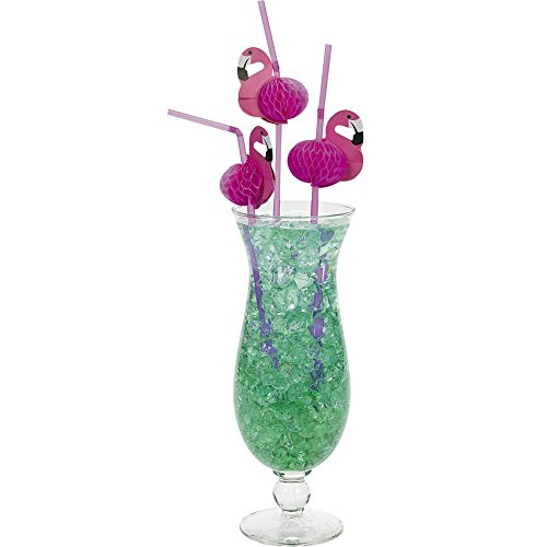 Flamingo Straws 1 Pack of 12