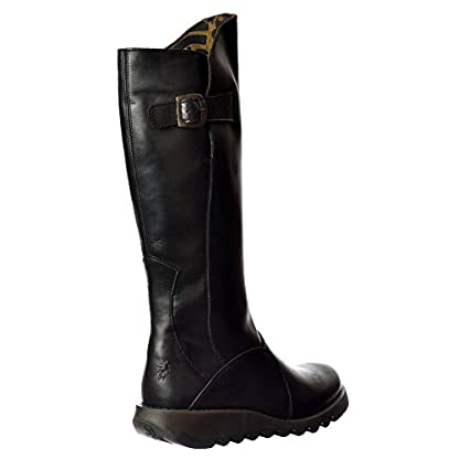Fly London Women's Mol Warm Wedge Boots 4