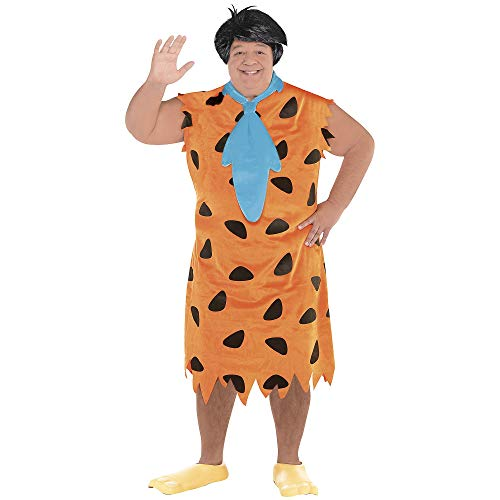 (SUIT YOURSELF Fred Flintstone Halloween Costume for Men, The Flintstones, Plus Size, Includes)