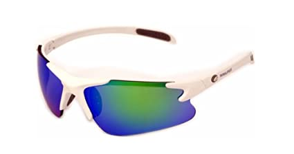 eb4831ad93f Image Unavailable. Image not available for. Color  Rawlings Youth Ry103  Mirrored Sunglasses White Blue