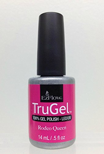 Ez Flow Trugel 4th Launch Nail Lacquer, Rodeo Queen, 0.5 Fluid Ounce