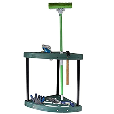 Home-X Corner Tool Rack (tools not included)