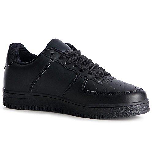 Chaussures Sport De Noir Sneaker Topschuhe24 Femmes UnzwYqBx5F