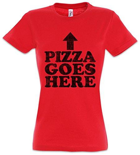 Girlie T 2xl Goes Xs Pizza Backwoods Women Mujer Tamaños shirt Here – Urban ZnX14Rxqn
