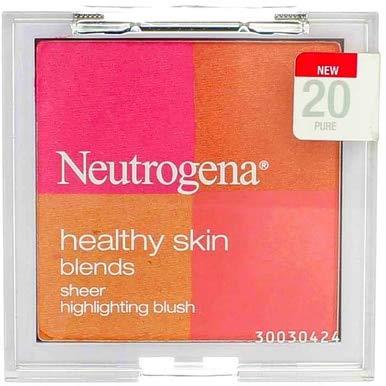 Neutrogena Healthy Skin Blends Pure Sheer Highlighting Blush -- 2 per case.