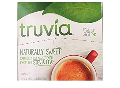 Truvia Natural Sweetener, 400 Packets (Net.Wt 42.3 oz)