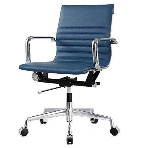 - Meelano 348-SLT 348-SLT-N Office Chair One Size Slate