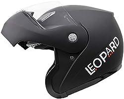 Leopard LEO-717 Casco Moto Modular ECE 22-05 Homologado #1 Negro ...