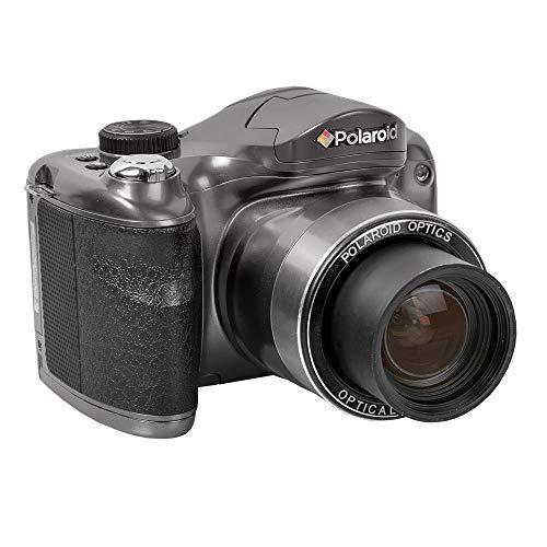 Polaroid 18MP Bridge Camera w/ 8GB SD Card Case and Tripod
