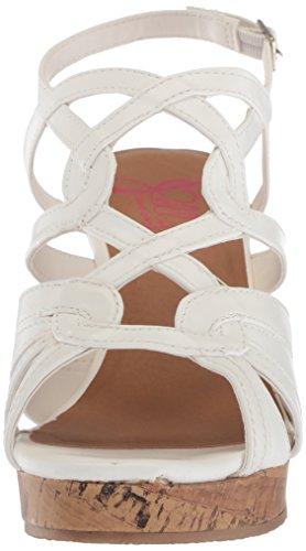 Wedge Women's Sandal White Alabama Jellypop w0qTFw