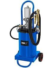 MSW Engrasadora Neumática para Taller Pro-G 12 (Volumen 12 litros, Presión De Trabajo 6-8 Bar, Presión De La Bomba 240-300 Bar)